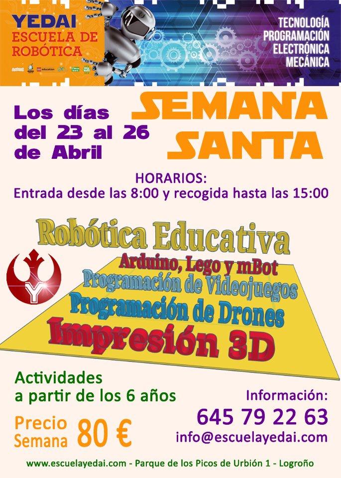 Actividades Robotica Semana Santa